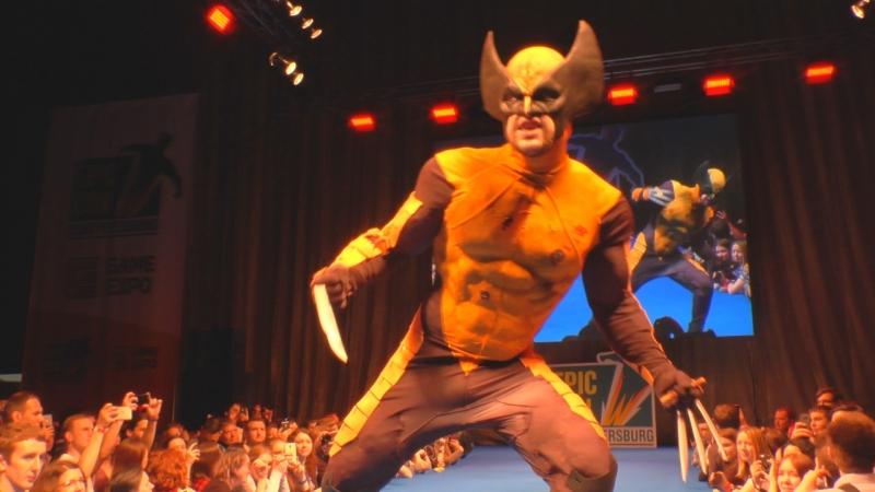 Cosplay Wolverine Marvel Comics Marvel Now Ksyders Epic Con Saint Petersburg 2018