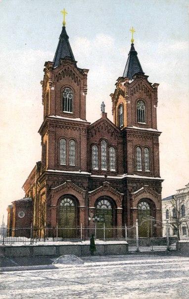 Кафедральный собор Римско-католической церкви в Саратове считался одни