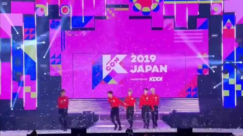 CUT | 18.05.19 | A.C.E @ 2019 KCON JAPAN 2019 Ending Stage