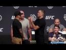 UFC 230: Dustin Poirier vs. Nate Diaz Staredown