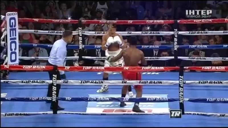 Ray Beltran vs José Pedraza Рэй Бельтран Хосе Педраса Украинский 25 08 2018