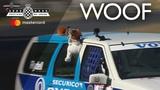 Puppy love in a Volvo 850 Estate at FOS
