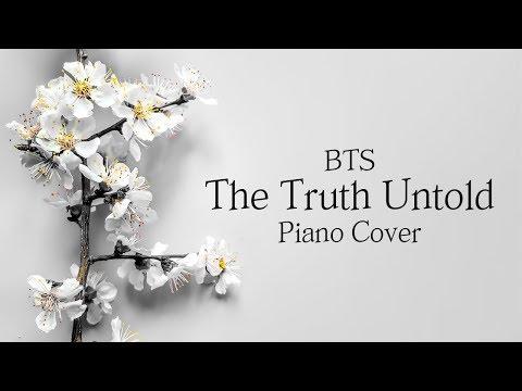 방탄소년단 (BTS) - 전하지 못한 진심 (The Truth Untold) | 가사 lyrics | 신기원 피아노 커버 연주곡 Piano