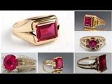 Manik ring designs, Ruby Ring designs, gemstone ring's