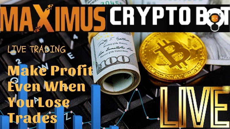 Maximus Cryptobot Losing Session! - How To Profit In Short-Term Trading!! (Live)