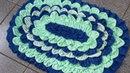 Tapete de Retalhos - How to make doormats using waste clothes - DIY doormats making idea-WOW