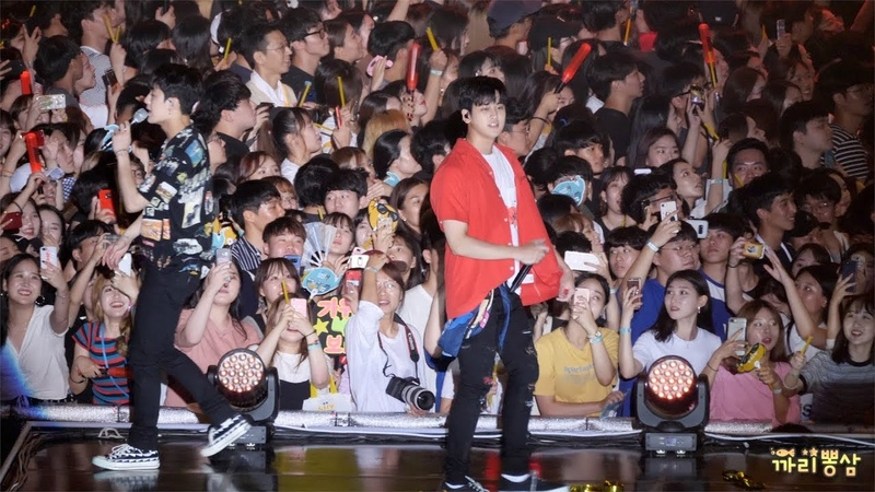 [4K]180804 iKON 아이콘 바람(신곡) [직캠Fancam] @ KB국민은행 리브콘서트 by 까리뽕삼