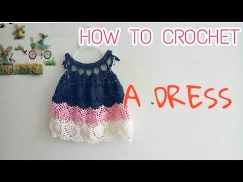 HOW TO CROCHET | A DRESS | HƯỚNG DẪN MÓC VÁY QUẢ DỨA | PHẦN 2