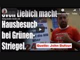 Sven Liebich macht Hausbesuch bei der GrünInnen-Abgeordneten Sebastian Striegel