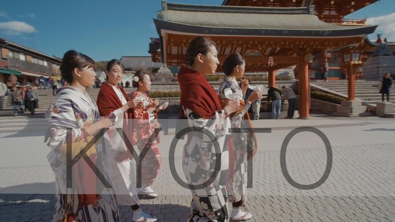 Kyoto in slow motion - Fushimi Inari Shrine 伏見稲荷大社【京都】