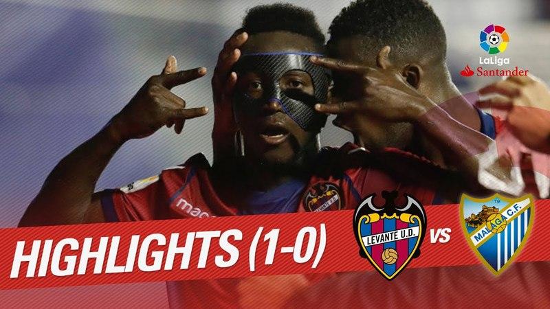 Resumen de Levante UD vs Málaga CF (1-0)