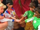 Women's World Cup Soccer Barbie Doll 1998. MATTEL Commercial with Mia Hamm. Старая реклама Барби