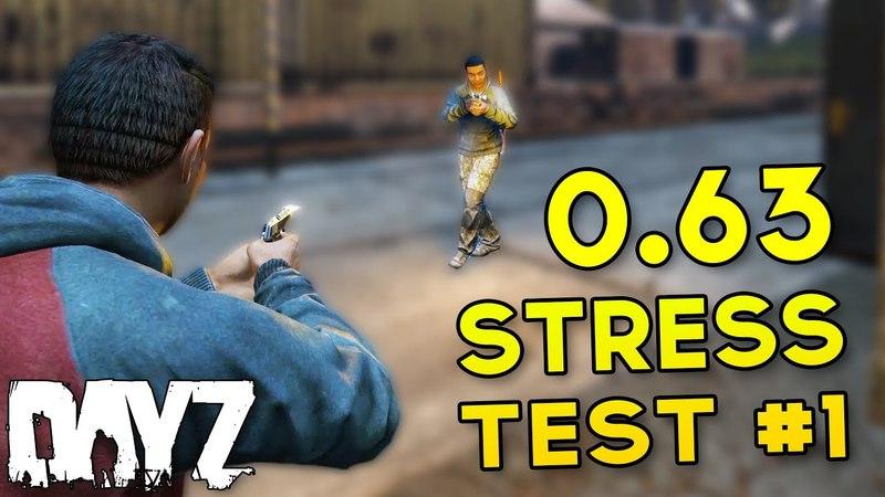 DayZ 0.63 Stress Test Gameplay - NEW North-West Airfield MORE!