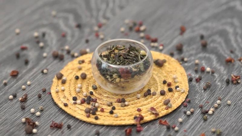 Ароматизированный зеленый чай Нектар Афродиты