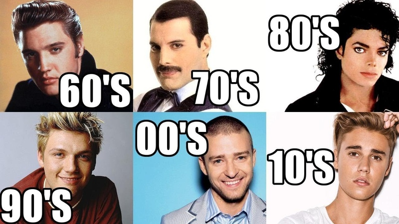 10 Most POPULAR Male Artists of Each Decade!