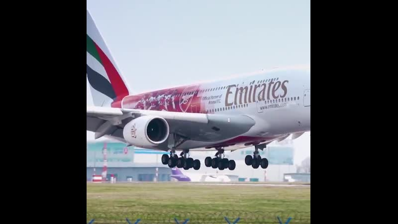 Have you seen the Arsenal @Emirates A380 yet