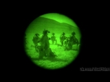 Army Rangers conduct night raid assault in Afghanistan