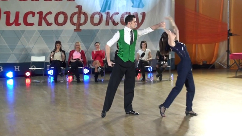 9.12.2018 ЧР Final JJ Champion Slow 1 место Павел Катунин - Ольга Азиатцева