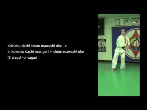 IDO GEIKO Kyokushin for 6 Kyu 5 Kyu 1/2