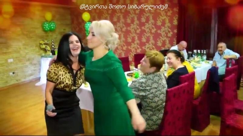 ქისტი გოგოს ქართული სულისშემძვრელი დარდიმანდული სიმღერა რესტორანში.mp4