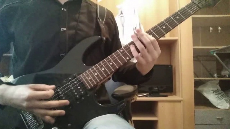 Bullet For My Valentine - Don't Need You (guitar cover by p4cific)