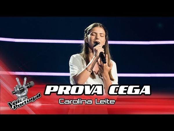 Шоу Голос Португалия 2018. - Каролина Лейте с песней Ангел — The Voice Portugal 2018. - Carolina Leite - Angel (перевод Sarah McLachlan)