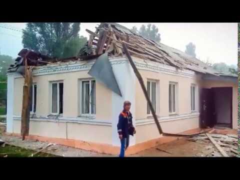 В селе Казацкое после артобстрела со стороны ВСУ повреждены газопровод и воскресная школа