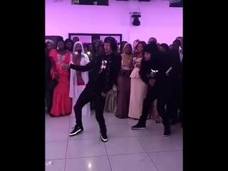 Les Twins at @ mamadousakho 's sister wedding ???