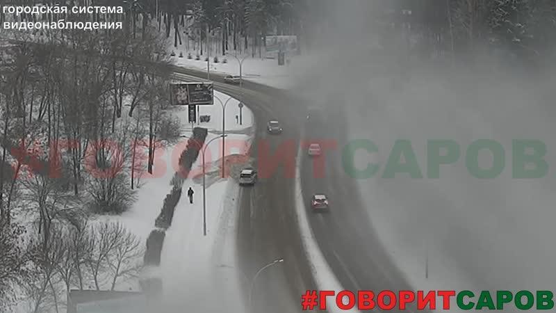ДТП, Саров, перекресток ул.Ак.Харитона-пр.Октябрьский, 10-12-2018
