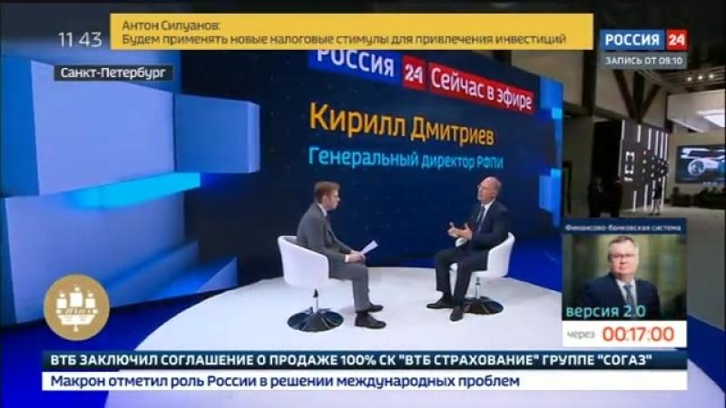 Дмитриев: приезд Макрона придаст импульс отношениям с Францией