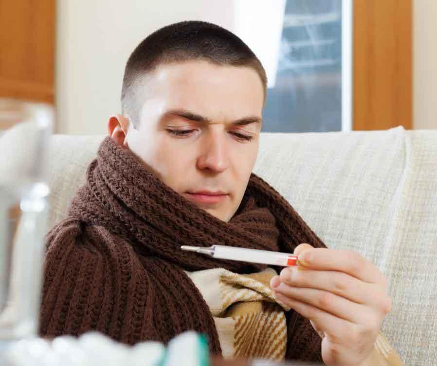 Ацетаминофен уменьшит жар и боль.
