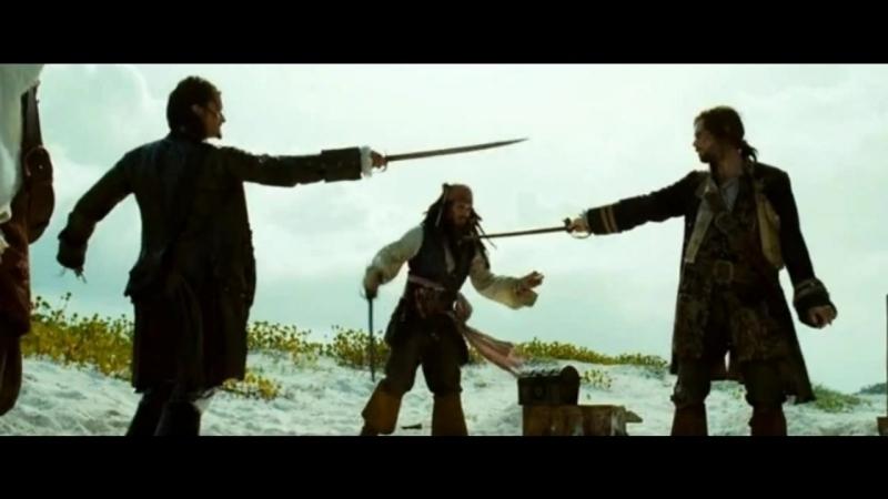 в руке его сияет меч , врагов от смеха тянет леч