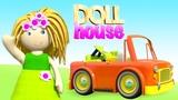 Кукольный домик. Мультфильм на английском языке все серии подряд.