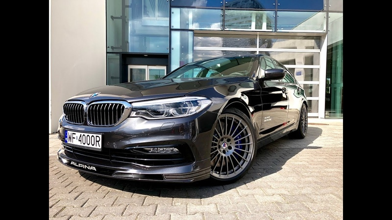 BMW B5 ALPINA 2018 - 608 hp - 4.4 l. V8 BiTurbo - Test Review in Warsaw !!