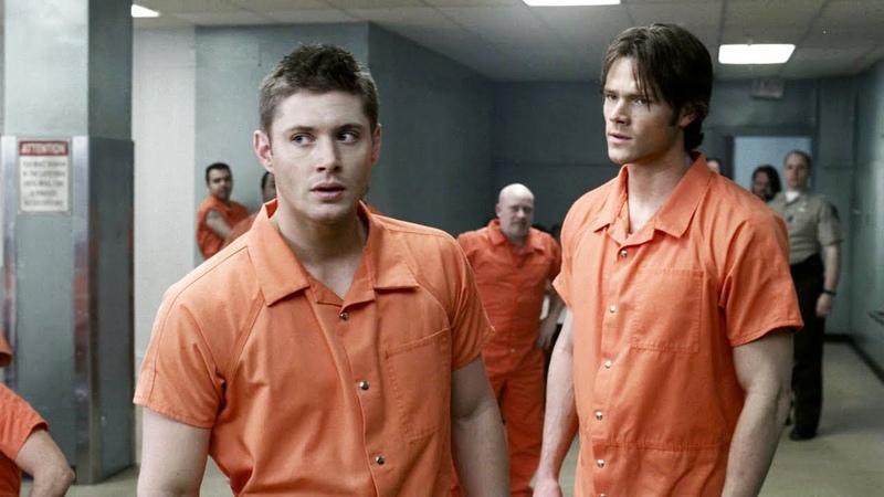 Сэм и Дин в тюрьме | Сверхъестественное