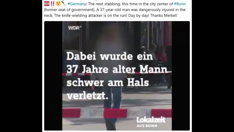 Messerstecherei in Bonner-Innenstadt - Opfer 37järhig