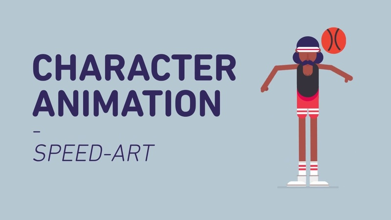 Character Animation in After Effects | SpeedArt 001