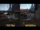 Black Desert - Remastered graphics comparison
