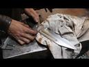 Forging a Seax Bowie knife.