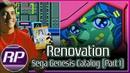 Renovations Sega Genesis Catalog Part 1 - Telenet Wolf Teams Finest Hour