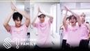 SM Family dancing Red Velvet Power Up