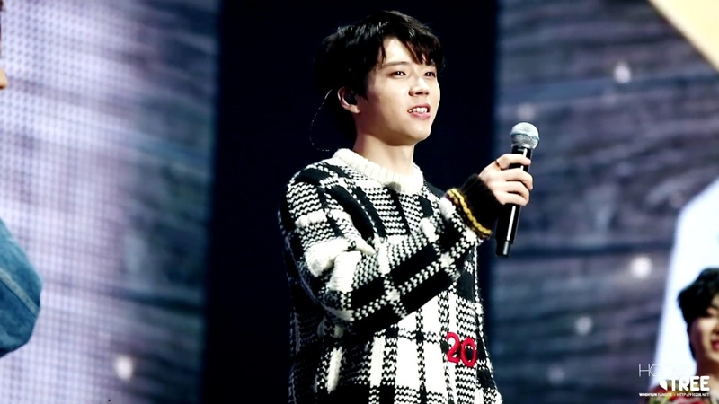 181231 INFINITE FANMEETING 'FOREVER' - 우현 WOOHYUN MENT