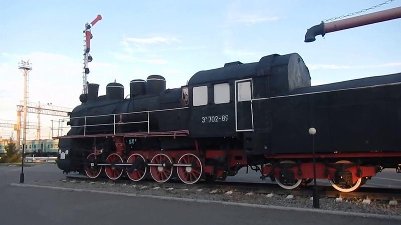 Кустанай (Қостанай) вокзал и окресности