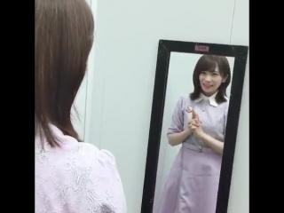 日頃からズッキュンの練習に余念がない秋元真夏さん️️️️ #Nogizaka46 #Nogisatsu #Nogi_Satsu