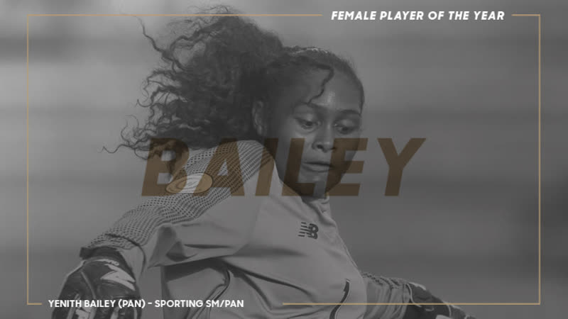 Йенит Бейли | CONCACAF Игрок года среди женщин 2018