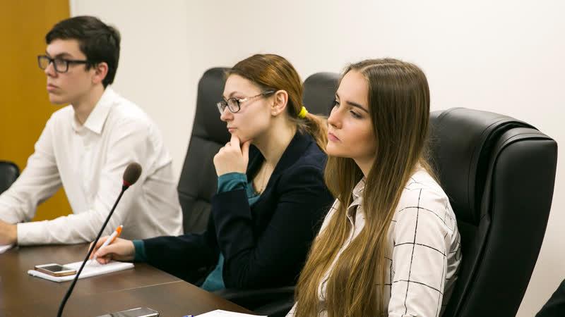 Видеоотчет. Школа молодого политика : Департамент территориальных органов исполнительной власти