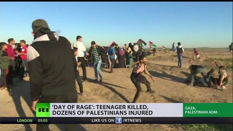 'Day of rage': Teenager killed, dozens of Palestinians injured