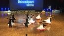Univers Belarus at WDSF World DanceSport Championship Formation Standard 4 place