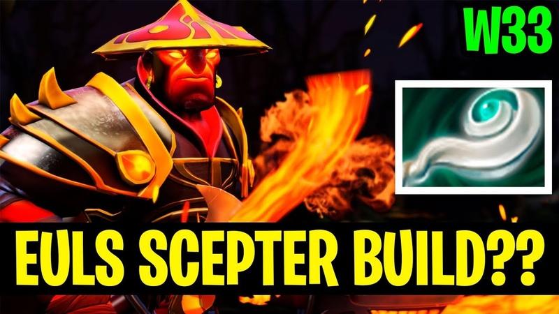 Euls Scepter Build - W33 Ember Spirit -Dota 2