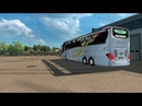 Ets2 mods Mercedes Setra 517 HDH 2018 bus Skin logo 2018 for 1 31 xx